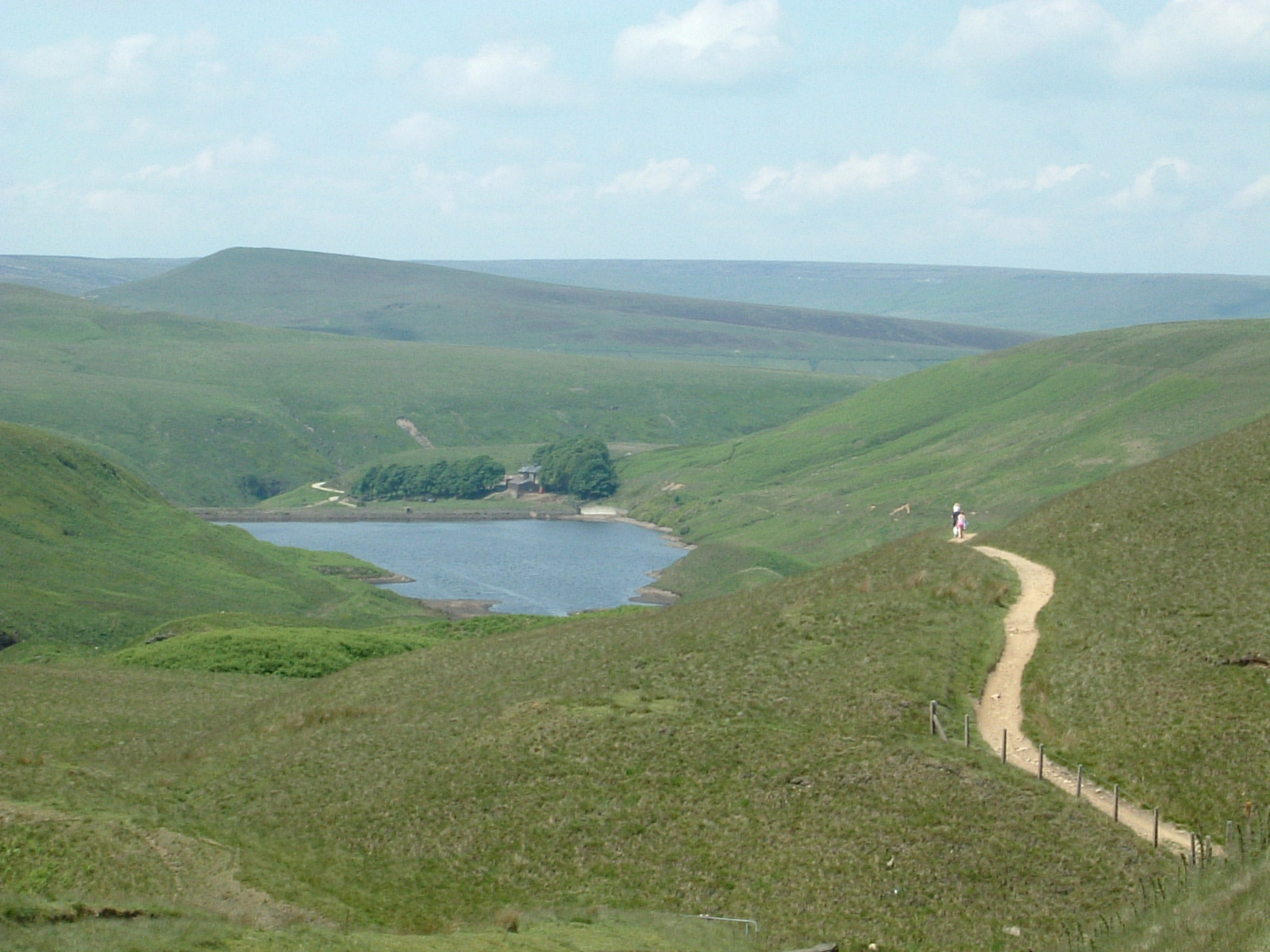Walking through the reservoirs