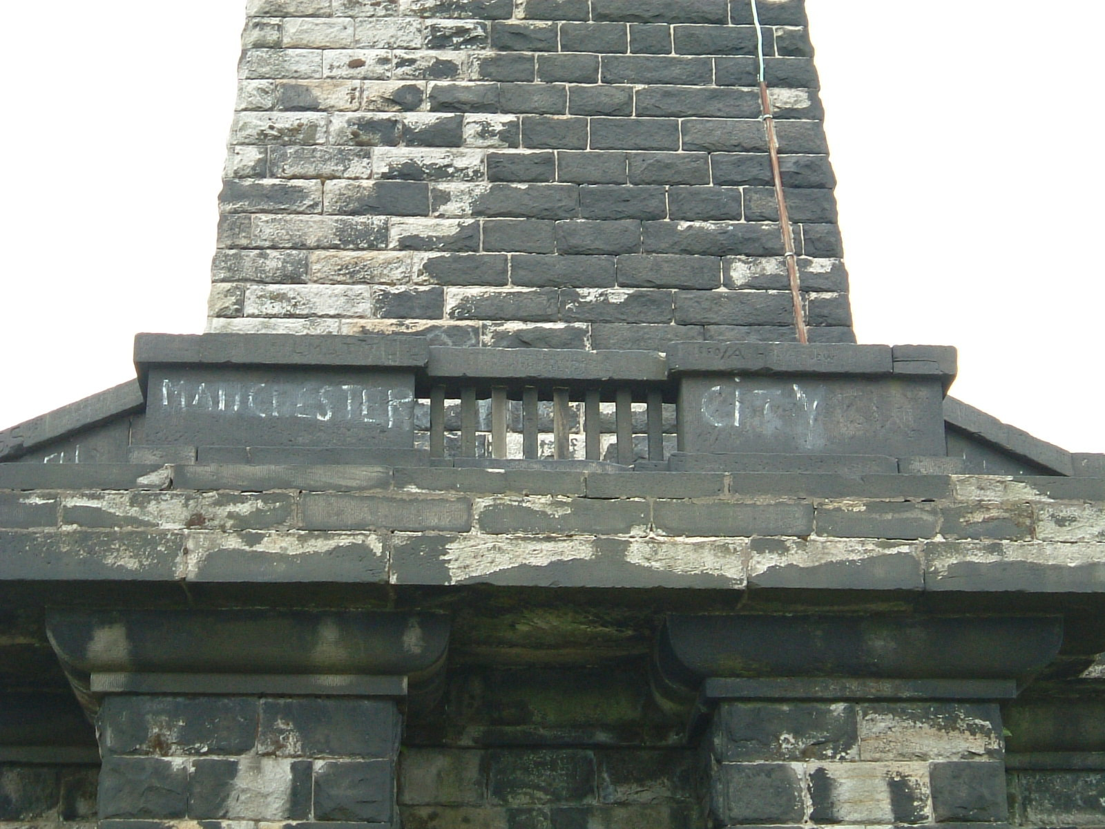 Graffiti on Stoodley Pike