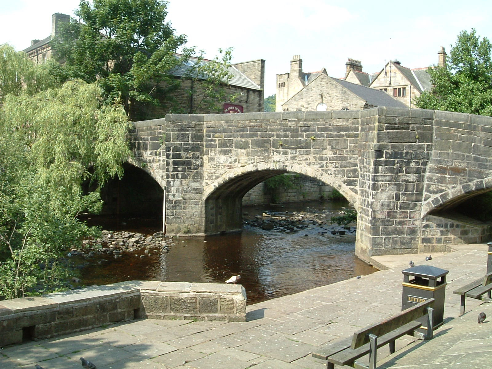 Hebden Bridge bridge