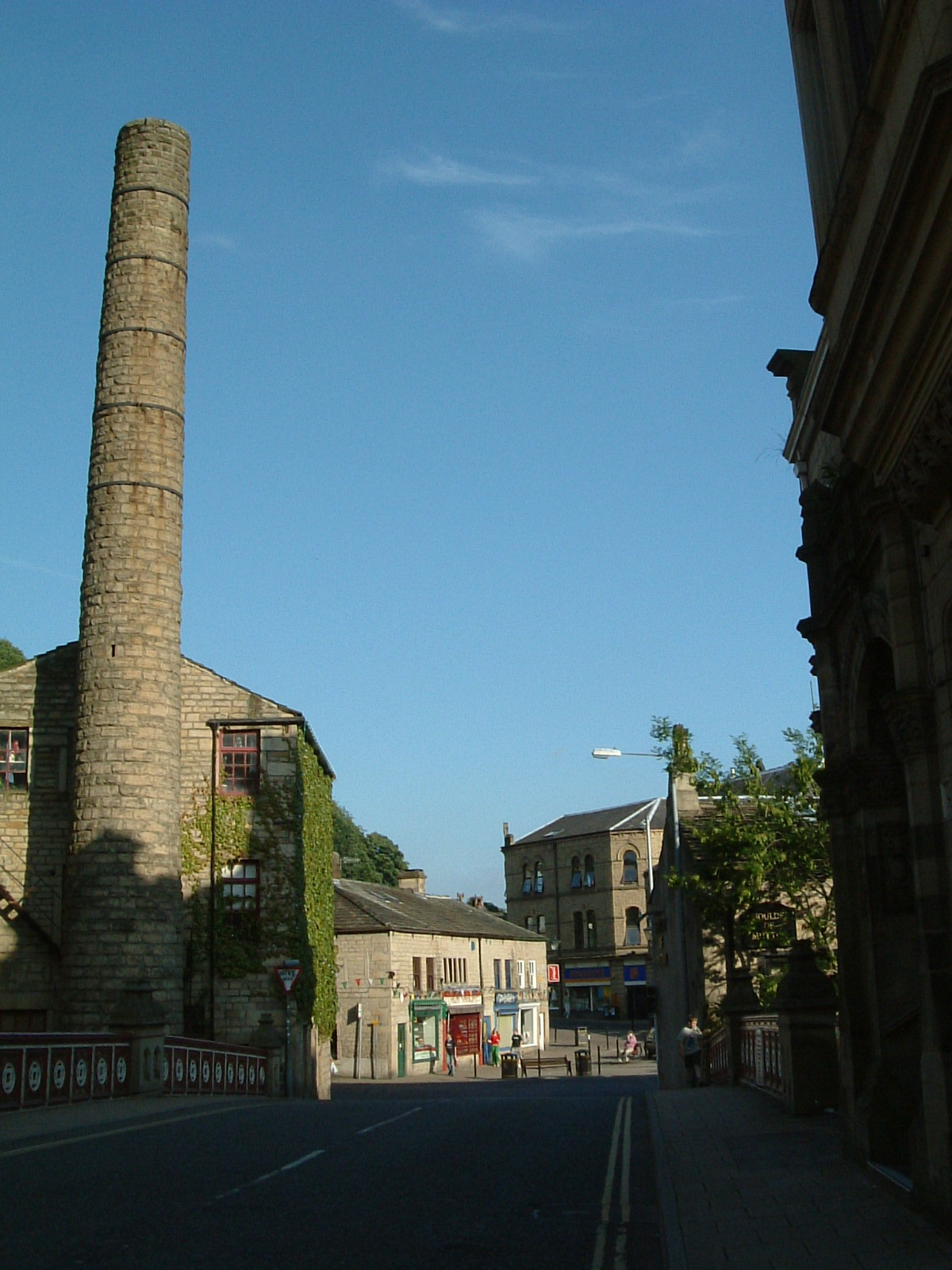 The old mill, Hebden Bridge