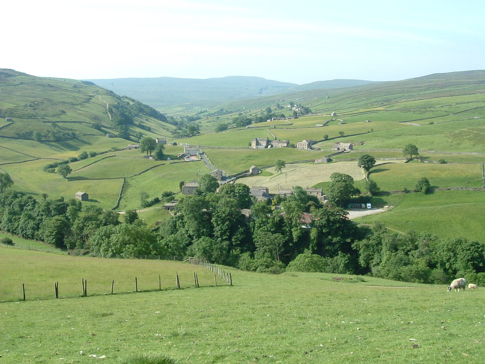 Looking back towards Keld