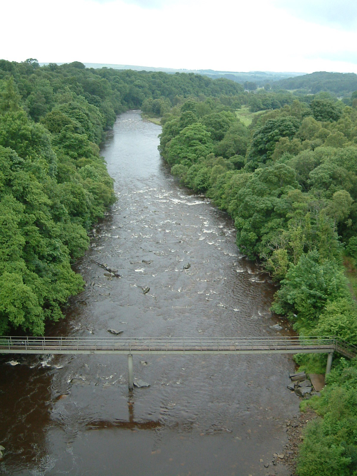 The South Tyne from Lambley Viaduct