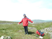 Mark on top of Fountains Fell