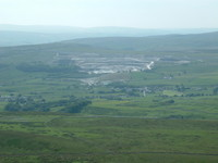 Horton-in-Ribblesdale from Pen-y-Ghent
