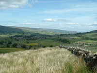 A distant view of Hawes