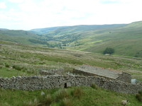 Scenery on the descent into Thwaite