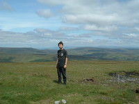 Mark on top of Great Shunner Fell