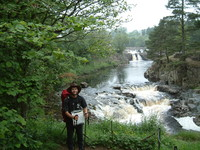 Mark posing in front of Low Force