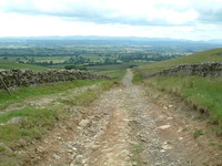 The descent into Dufton