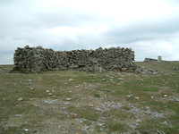 The shelter on Cross Fell