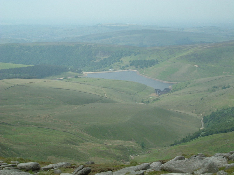 Kinder Reservoir from Kinder Scout