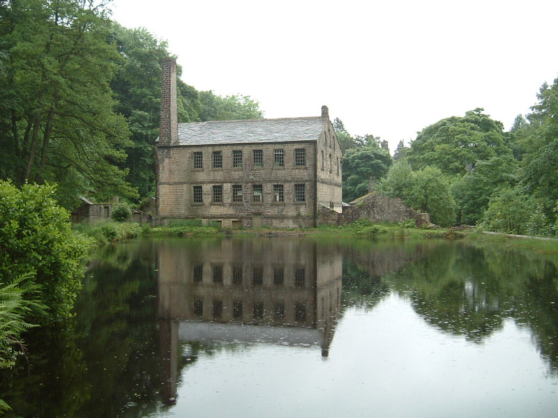 Gibson Mill in Hardcastle Crags