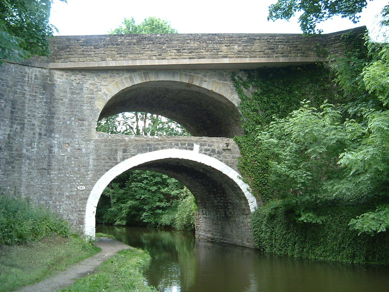The double-decker bridge, East Marton