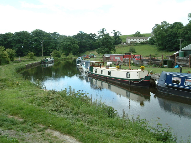 The Leeds and Liverpool Canal at East Marton