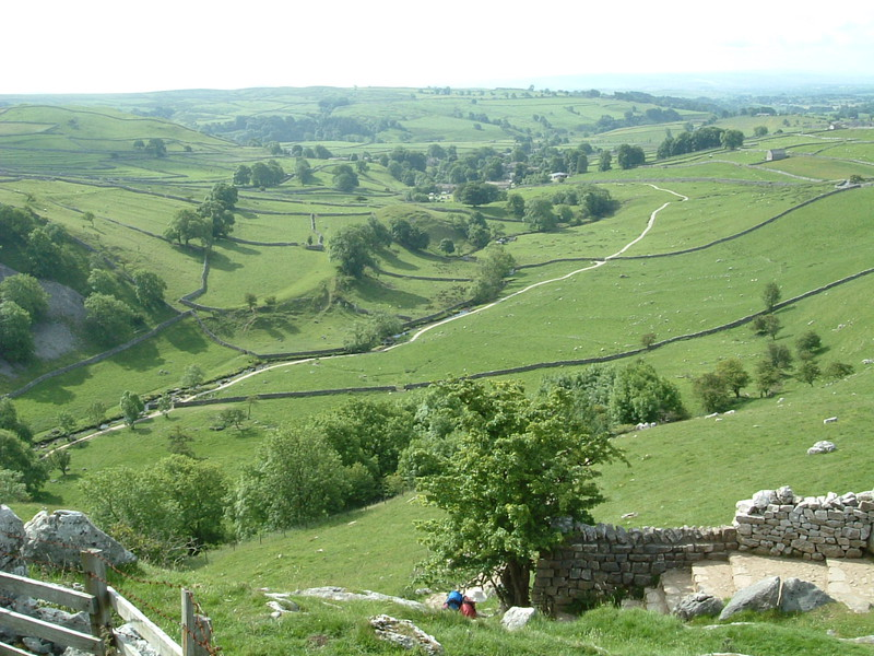 Malham from Malham Cove