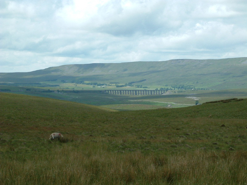 Ribblehead Viaduct on the picturesque Settle-Carlisle railway