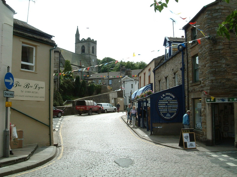 A street in Hawes