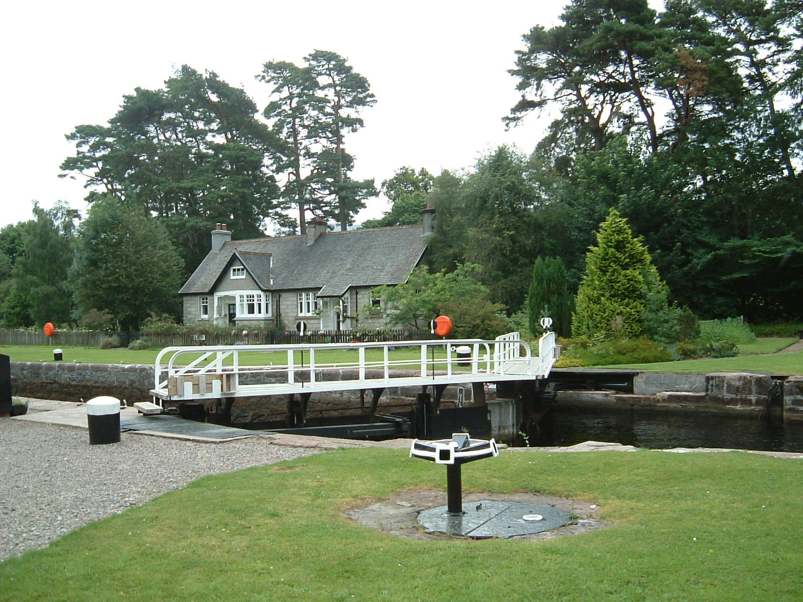 Kyltra Lock on the Caledonian Canal