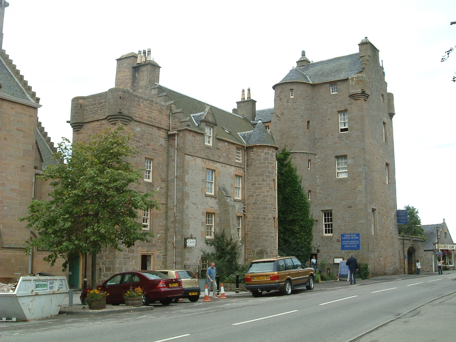 The Castle Hotel in Dornoch