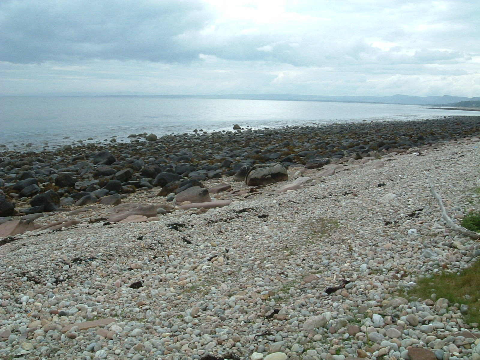 The beach south of Brora
