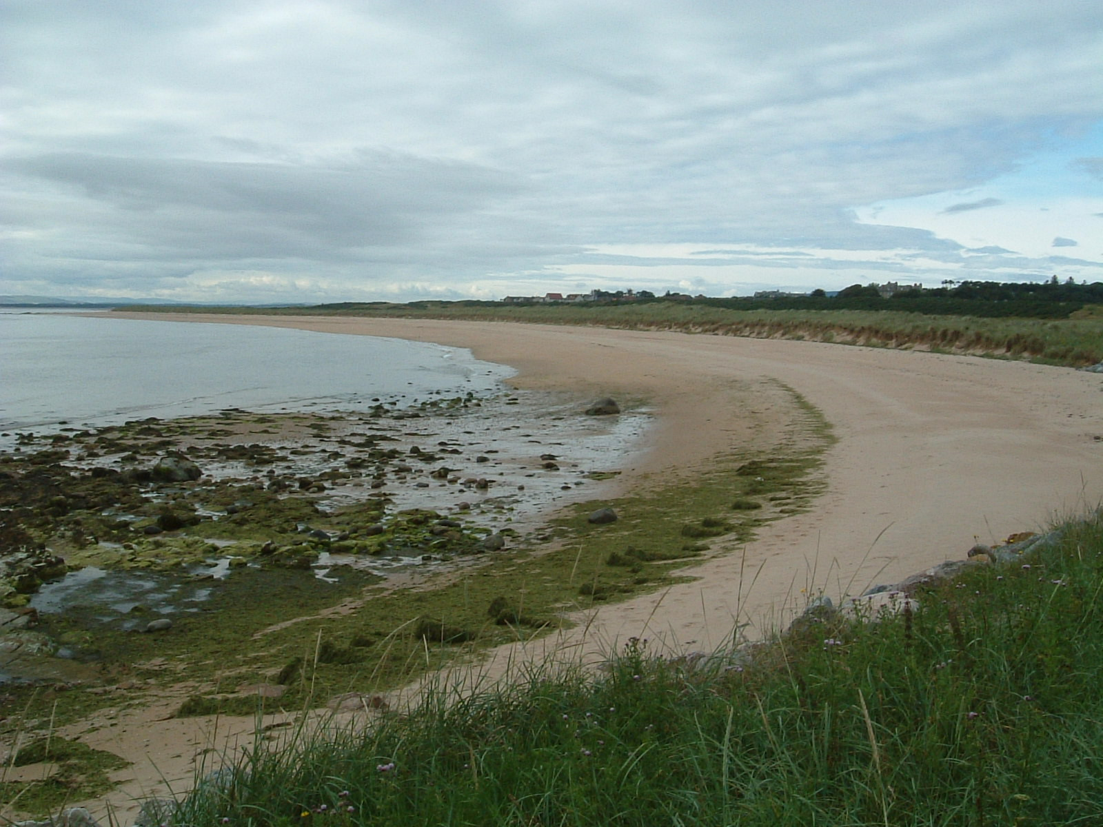 The beach north of Dornoch