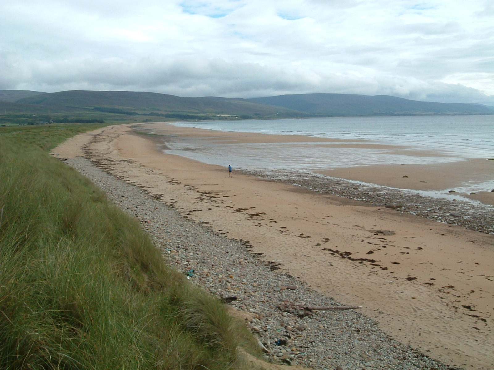 The beach north of Brora