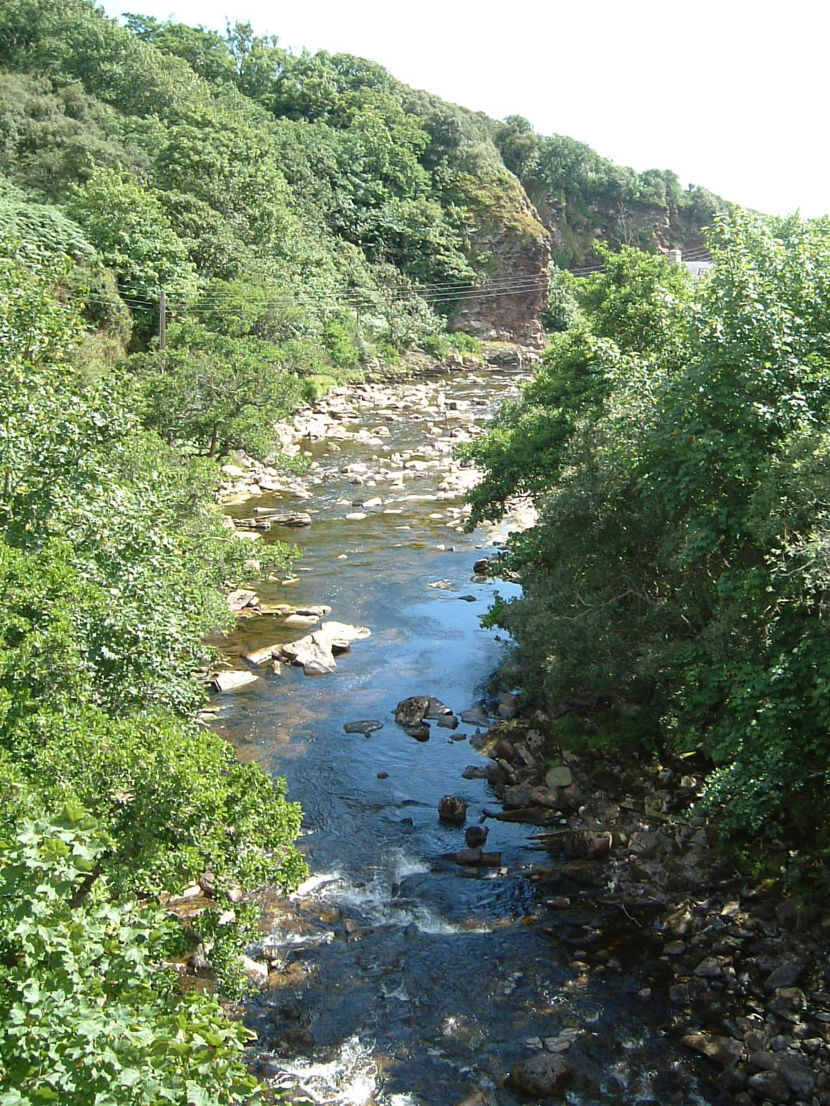The river in Berriedale