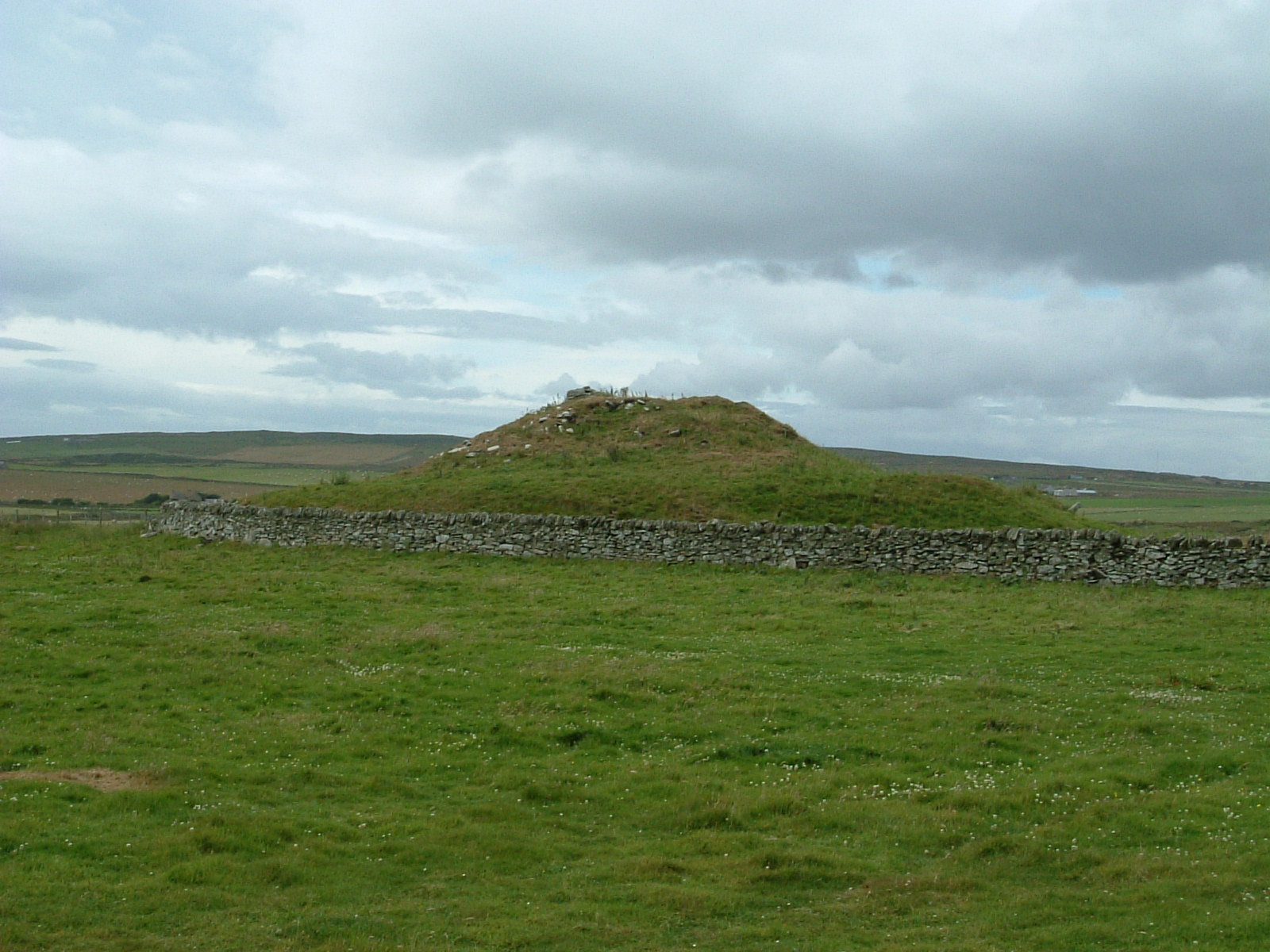 The broch at East Clyth