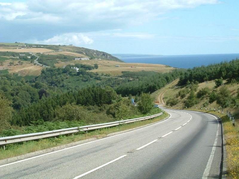 The descent into Berriedale