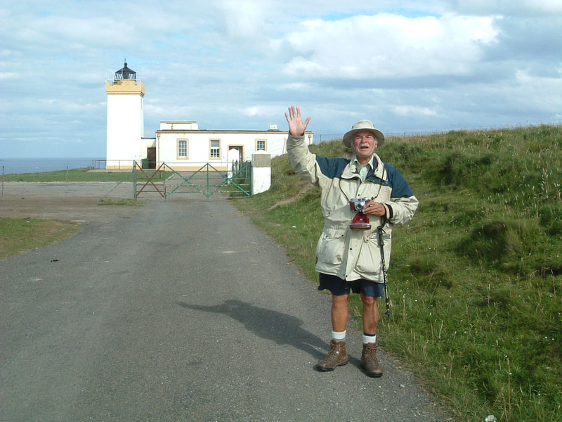 Barry at Duncansby Head