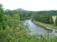 The River Tweed and the Eildon Hills