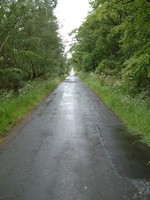 The long, wet road to Balerno