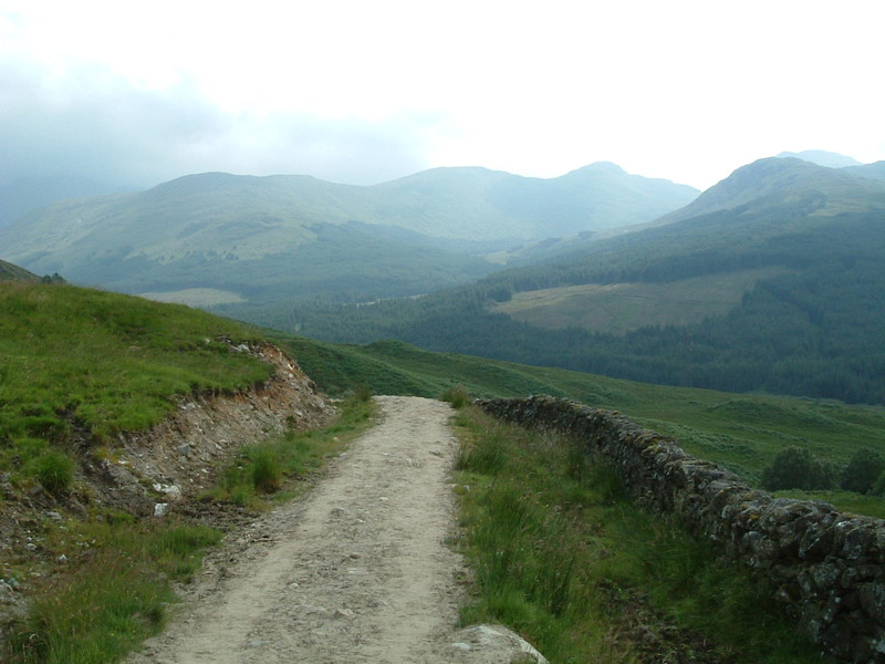 The old military road to Crianlarich