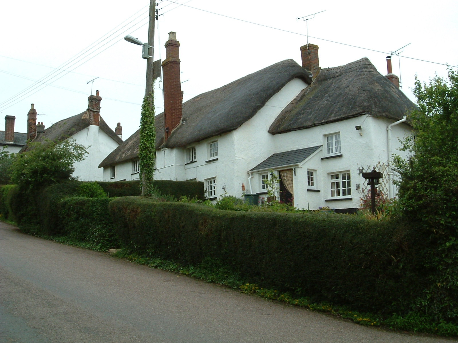 A pretty thatched cottage in Shobrooke
