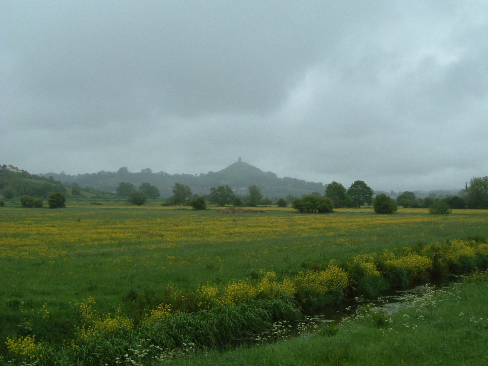 Glastonbury Tor from the south