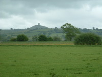 Glastonbury Tor from Long Drove