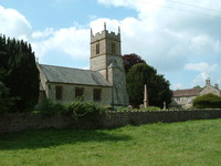A pretty little church in Dunkerton