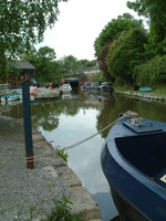 The start of the Kennet and Avon Canal