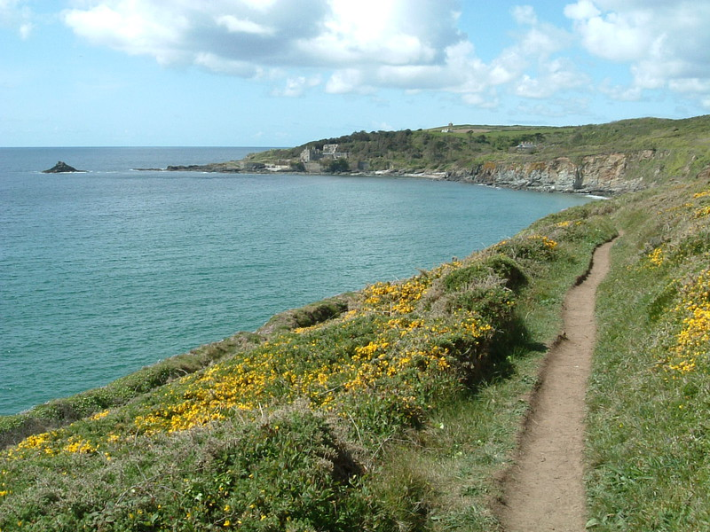 The Southwest Coastal Path from Kenneggy Cliff