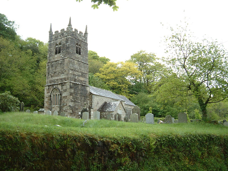 Lewtrenchard Church