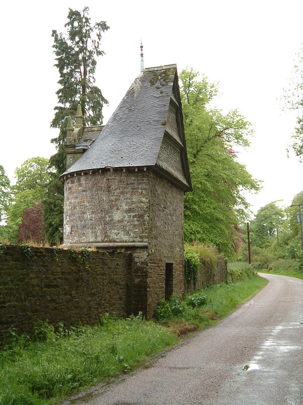 A dovecote designed by the Reverend Sabine-Gould at Lewtrenchard Manor Hotel