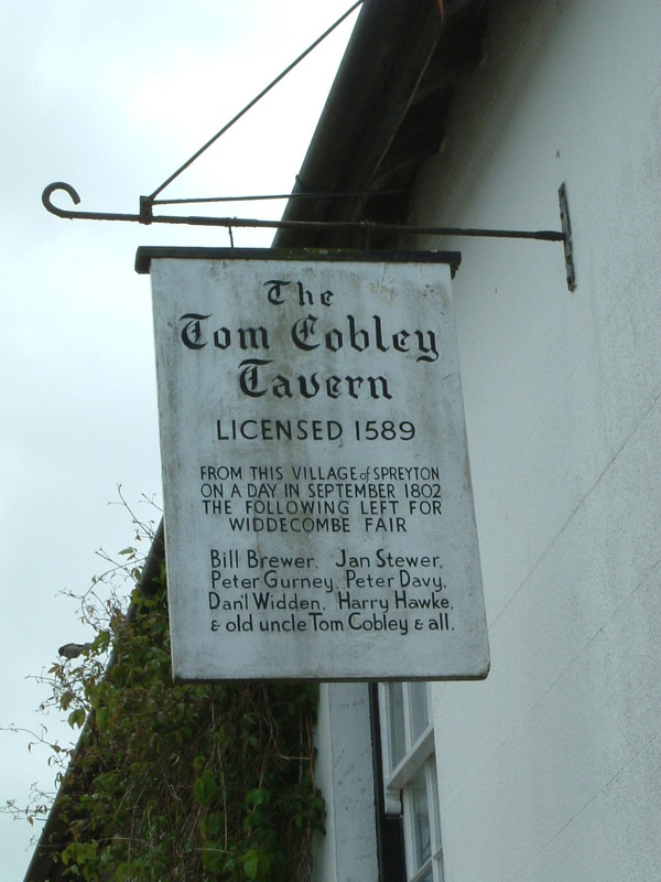 The Tom Cobley Tavern in Spreyton