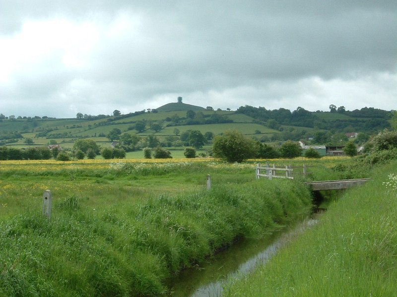 Glastonbury Tor from the north
