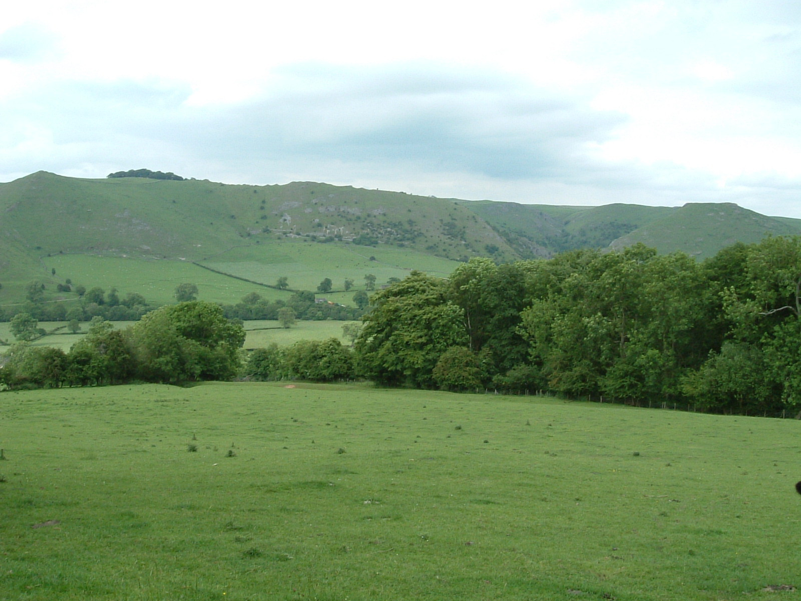 Dovedale from a distance
