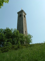 The Tyndale Monument on top of Nibley Knoll