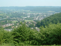 Dursley as seen from Stinchcombe Hill
