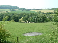 Fields as seen from the Cotswold Way