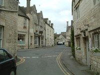 Painswick town centre