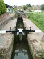 A lock in Stourport-on-Severn