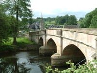 The bridge into Ilam
